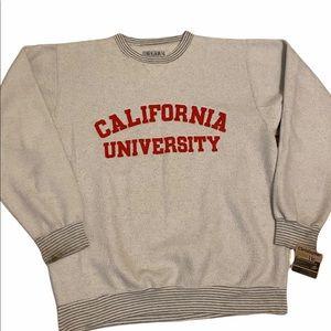 California University Crewneck Sweatshirt
